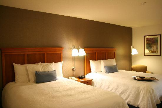 Hampton Inn San Marcos: Two Queen Guestroom