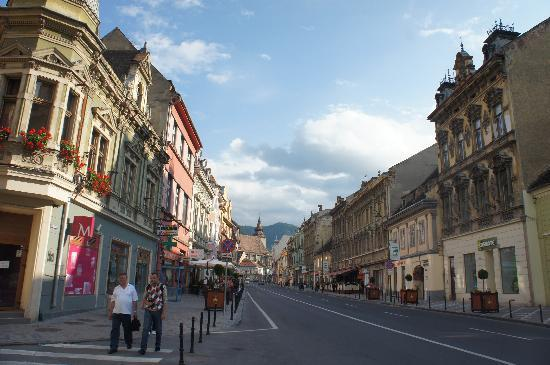 Brasov, Rumania: the street