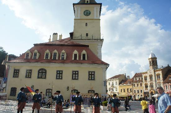 Brasov, Romania: the square