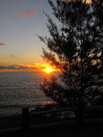 Kudat, มาเลเซีย: Sunset at the tip of Borneo