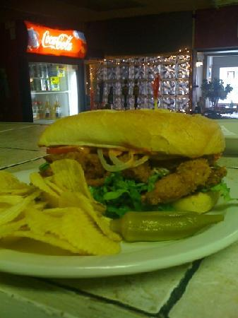 Fayetteville, Virginia Barat: soft shell crab po boy