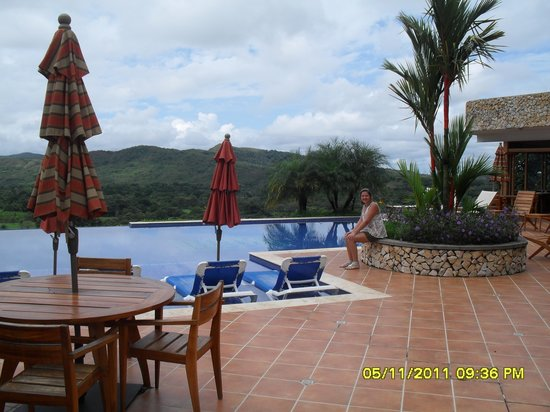 Caldera, Panama : The beautiful infinity pool area