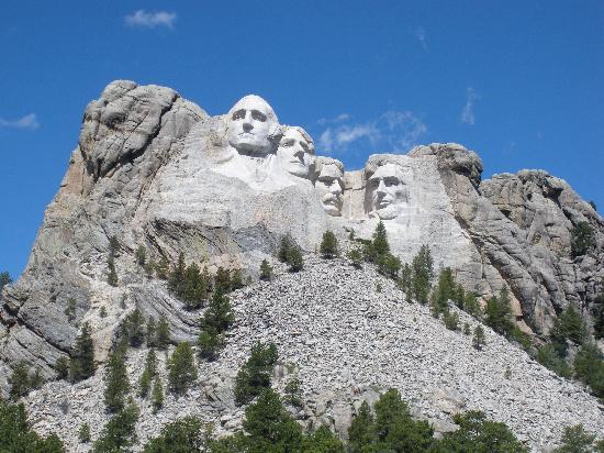 Custer State Park: mount rushmore