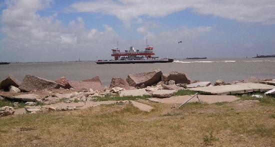 Galveston, TX: Take the ferry boat ride -- it's free!