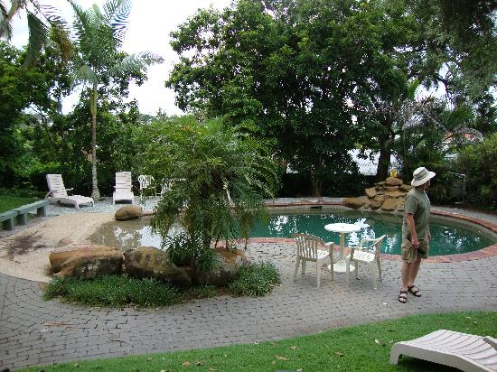Toowong Villas: one of the two pools