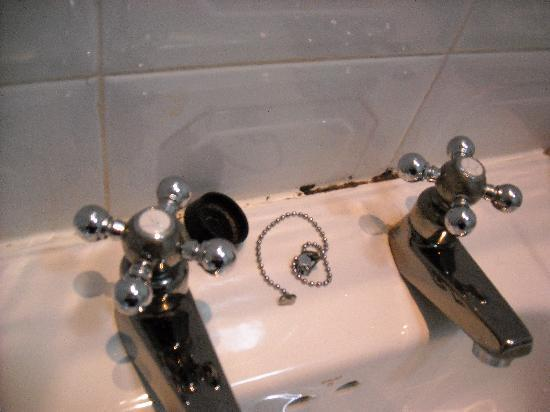 Victoria Place Guest House : Wash basin