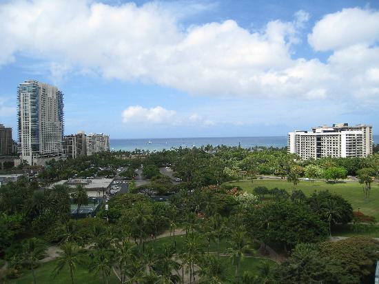 Waikiki Gateway Hotel : Penthouse oceanview