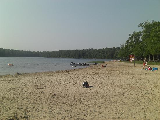 Benton, Pensilvania: The beach and boat rentals