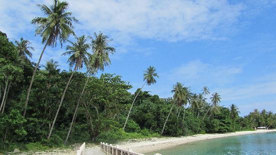 Pulau Lang Tengah, Malaysia: The beach