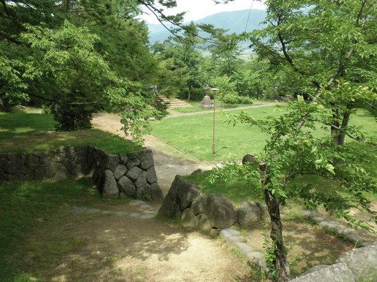 Iiyama Joshi Park: 城の内部址