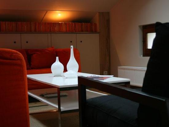 Chalet Les Pelerins : The reading room