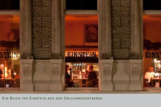 Cafe Einstein : von außen