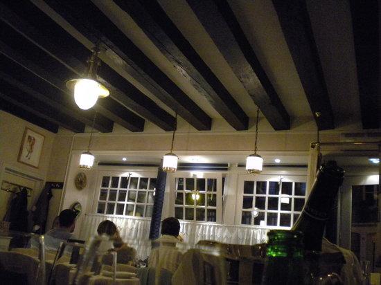 Le Bistrot du Pollet : l'interno visto dal nostro tavolo