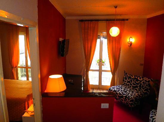 Albergo Sempione: junior suite con doppio balcone vista lago