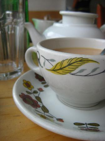 Tea at Saving Grace