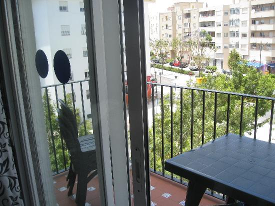Miguel Angel Apartments: View from Balcony