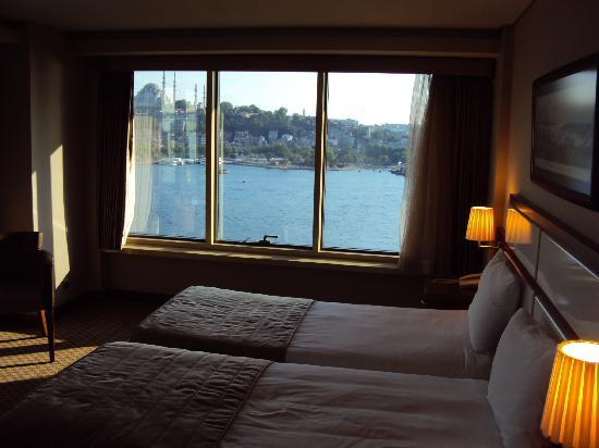 Istanbul Golden City Hotel: You won't want to leave your room, breathtaking views