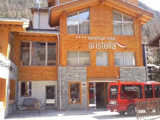 Hotel Aristella swissflair : The newly revamped Aristella