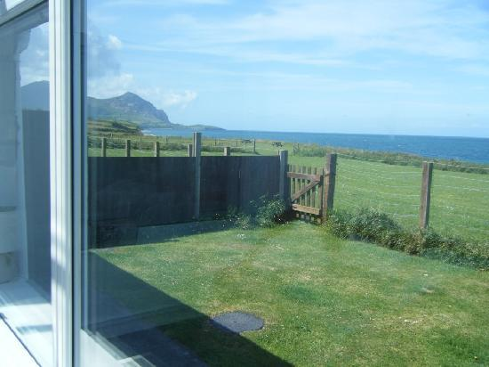 Clynnogfawr, UK: One of our views - within yards of the sea!