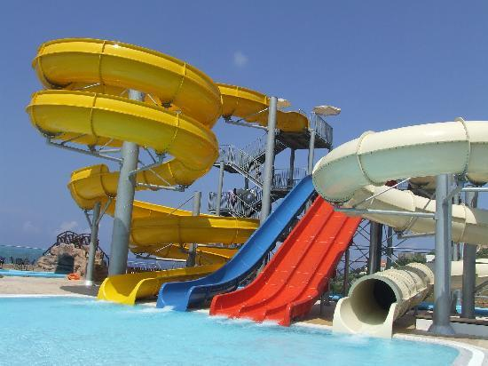 smartline Village Resort & Waterpark: The Waterslides!
