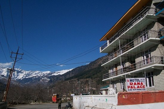 Manali, Индия: Hotel Rana Palace