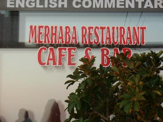 Playa Calis: Merhaba Restaurant