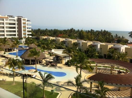 Marival Residences Luxury Resort : view from room 409
