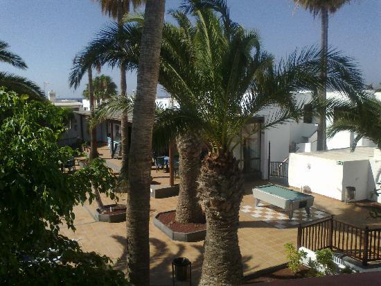 Apartamentos Fayna: View from our balcony