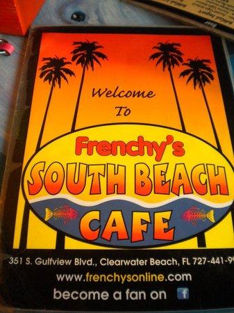 Frenchy S South Beach Menu