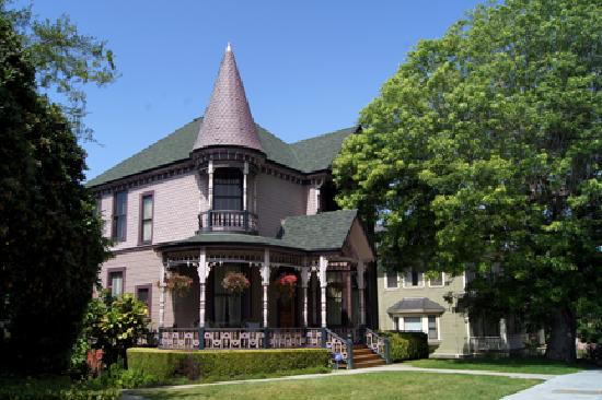 Victorian home picture of angelino heights historic area for Historical homes in los angeles