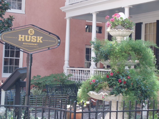 Husk Restaurant: Charming and welcoming front porch