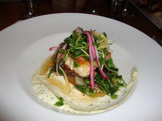 Restaurant Martin : Crispy Skin Sea Bass