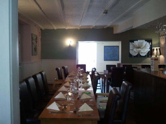 The Sherston Inn: Restaurant