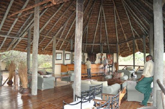 Lake Burunge Tented Camp: Lobby