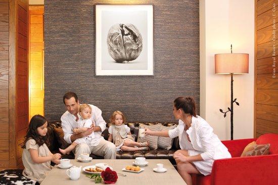 Hotel Ermitage - Evian Resort: En famille à l'Hôtel Ermitage