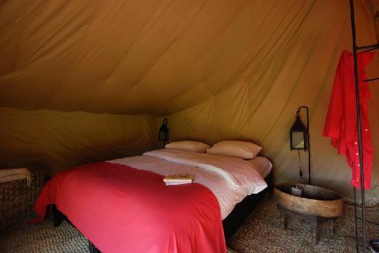 Camp de l'Oasis: Private tent