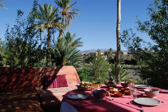 Camp de l'Oasis: Breakfast area