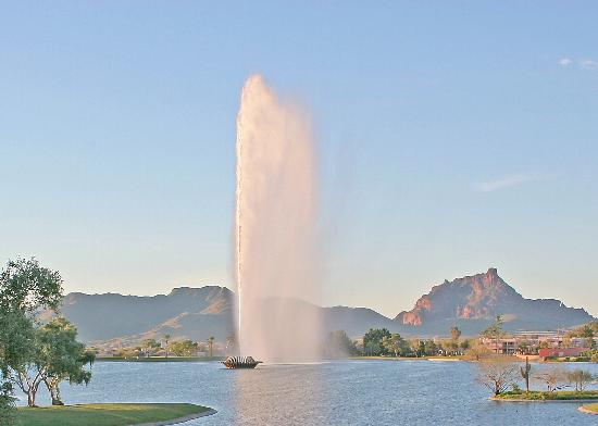 Fountain Hills, AZ: Highest Fountain - Fountain Park