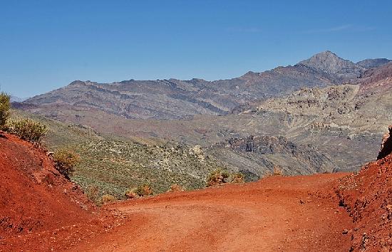 Titus Canyon : Der höchste Punkt
