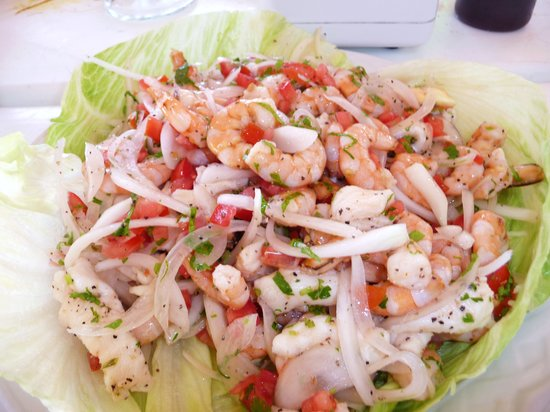 Nohoch Kay Beach Club: You've never had ceviche this fresh or this good...I promise!