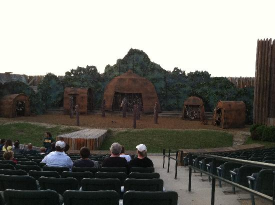 The Lost Colony: waterside_Theater