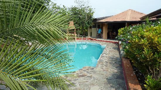Dos Palmas Country Inn La Garita: Nice pool. WiFi available.