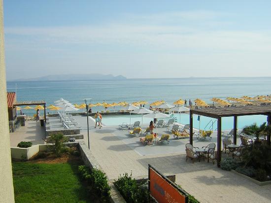 Karteros, Grekland: Vita da mare