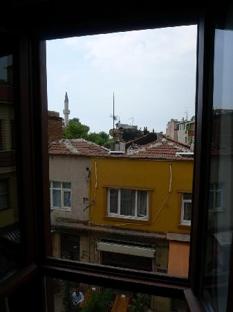 Rose Garden Suites Istanbul : View from room