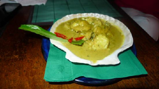 Salsa Kitchen Tapas Restaurant : Lobster and Scallop Curry