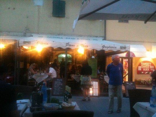 ristorante Pane e Vino a Castiglione della Pescaia