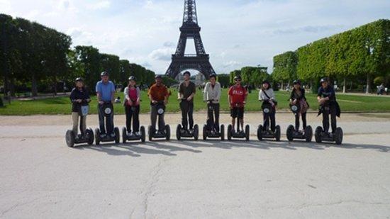 Fat Tire Tours Paris: Segway group