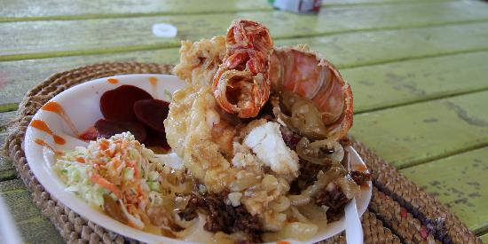 Santanna's Bar and Grill: Lobster so big we could not eat it all.