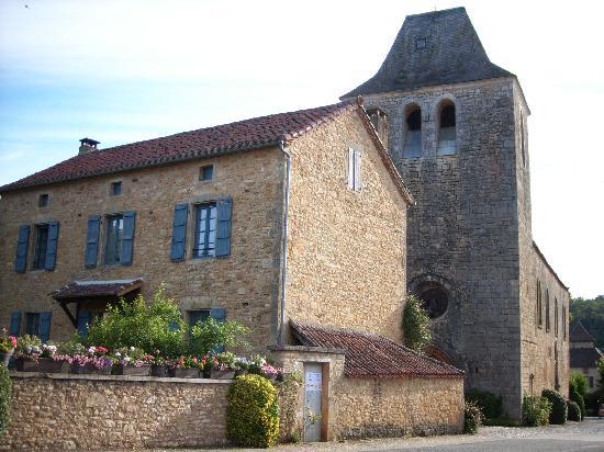 Hostellerie de Goujounac : Middeleeuwse kerk