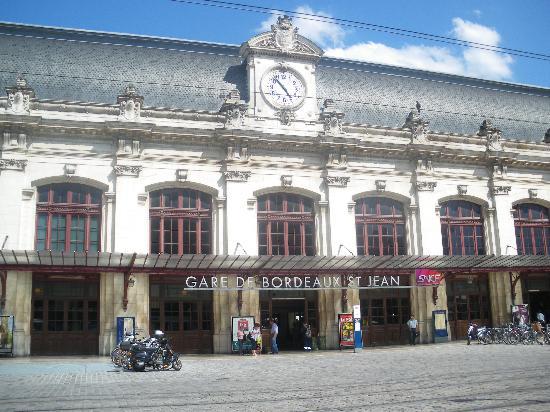 Teneo Appathôtel Bordeaux: Bahnhof St.Jean